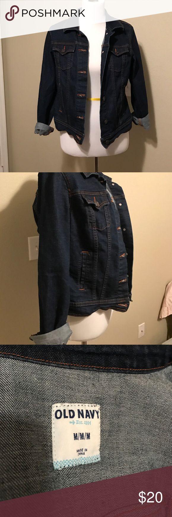 Old Navy Ladies Denim Jacket Old Navy Ladies Denim Jacket EUC Old Navy Jackets & Coats Jean Jackets