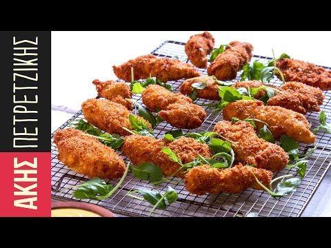 Σνίτσελ κοτόπουλο | Άκης Πετρετζίκης