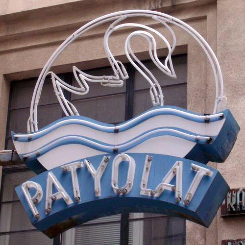 Patyolat neon logo