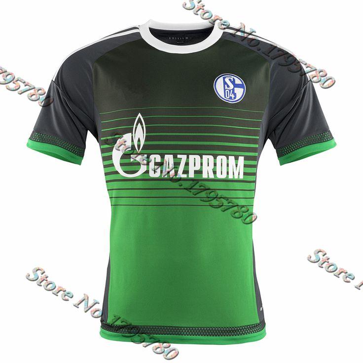 Find More Sports Jerseys Information about Top Thailand 2015/16 FC Schalke  04 Third Soccer