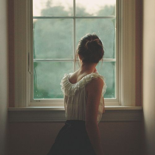 Girl at window - by Esther Jung, via Flickr
