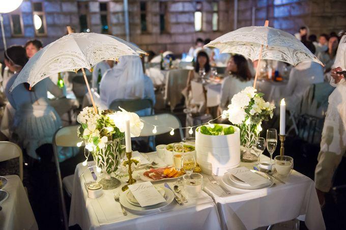 ドレスコード白のシークレット・ディナーパーティー「ディネ・アン・ブラン」が日本上陸の写真10