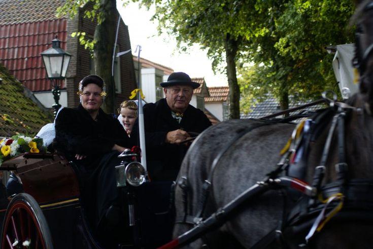 rondje rond de kerk / sjeesjesrijden in Aagtekerke| Zeeland op foto