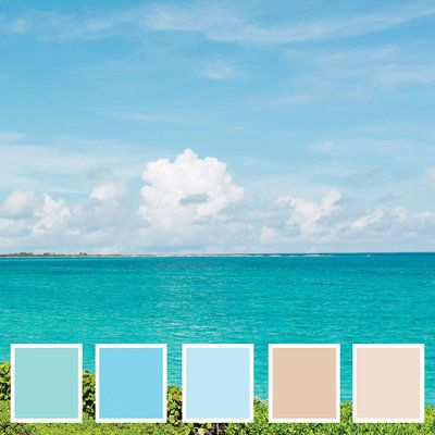 How to pick a perfect color palette that is inspired by your destination wedding's location.