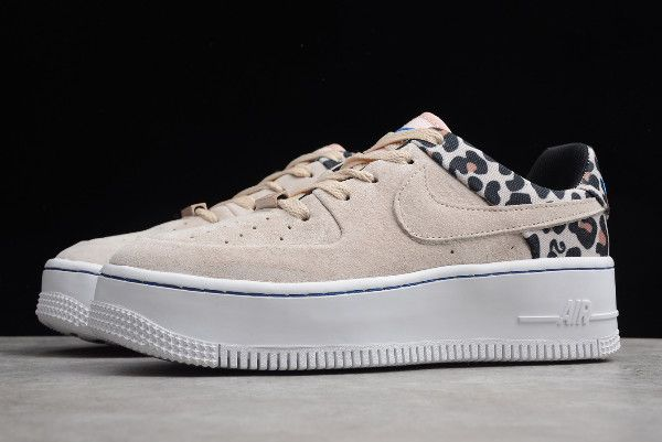 nike air force 1 sage low donna leopardate