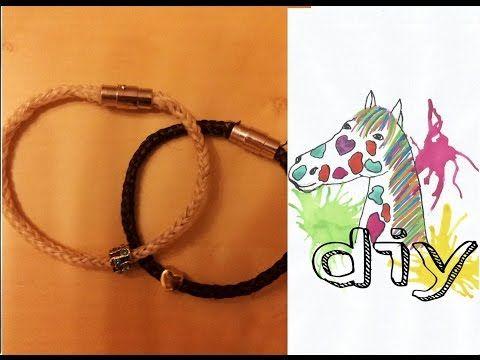 So entsteht ein Armband aus Schweifhaar I EinzVomPferd-NK I Julia & Lovely - YouTube