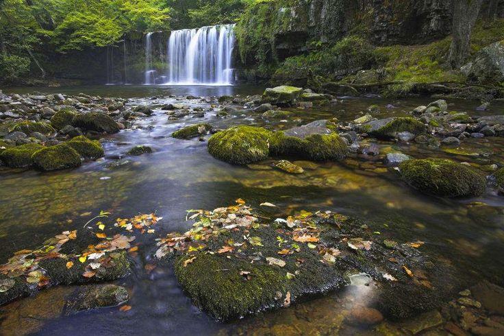 Waterfall Woods, País de GalesEste destino no País de Gales é um parque nacional popularmente conhec... - iStock