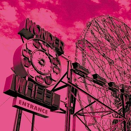 Cotton Candy Wonder Wheel by Erin Clark