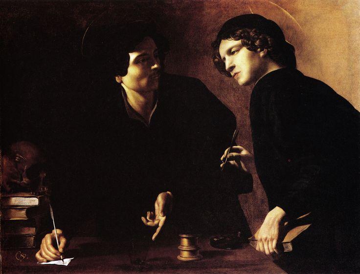 Giovanni Battista Caracciolo, Battistello (Italian, 1578-1635), The Saints Cosma and Damiano, 1620-25, Oil on canvas, Staatlische Museen, Berlin