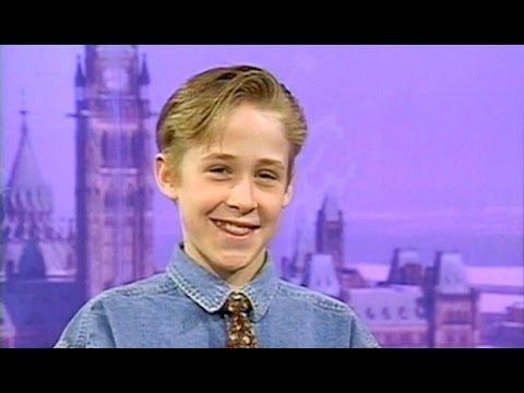 Young Ryan Gosling - Interview from 1992