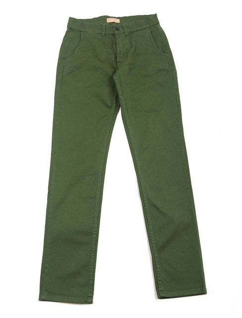 Velour Dark Green Adan Chino Pants: Velour's renowned classic chino Adan with just the right mix of stretch for that effortless feeling. The chino fabric means that it is constructed of diagonal, parallel ribs. This structure gives the chino cloth its heavy duty strength while also allowing it to drape well.96 % cotton 4 % elastane.