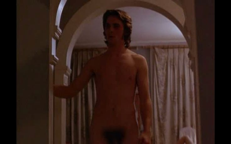 Image result for Christian Bale nude