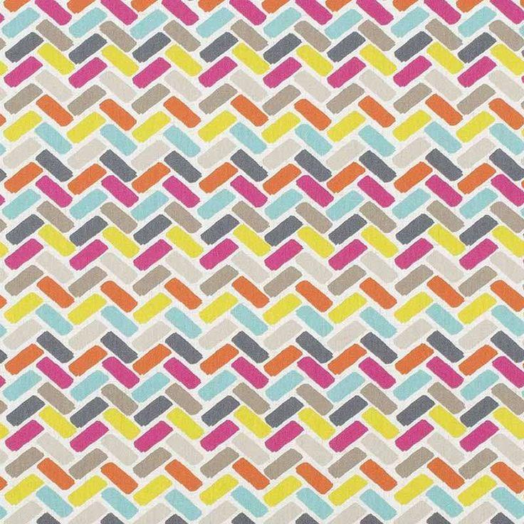 Warwick Fabrics : WAIMALU, Colour SUMMER