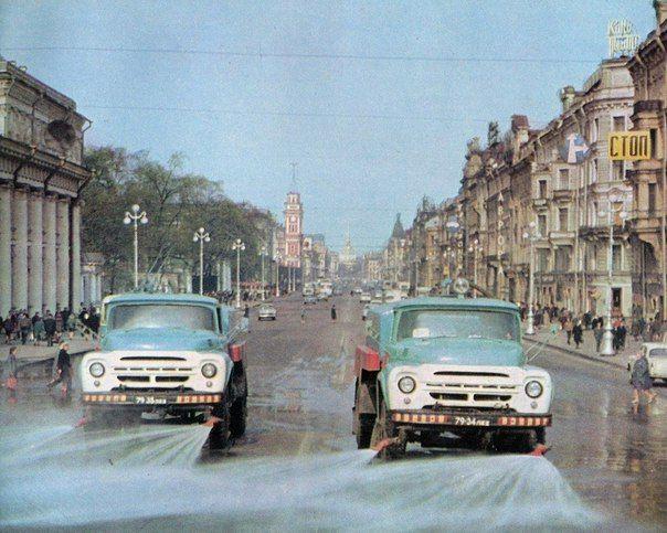Невский проспект. 1969г.