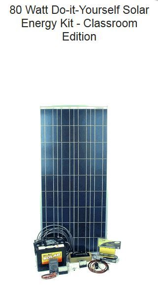 1000 Images About Diy Solar Panel Kits On Pinterest Diy