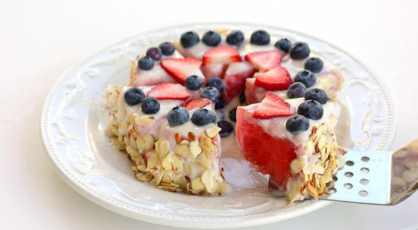 A low calorie dessert.: Desserts, Healthy Watermelon, Food, Watermelon Tarts, Savory Recipes, Yum, Favorite Recipes, Watermelon Cakes, Birthday Cakes
