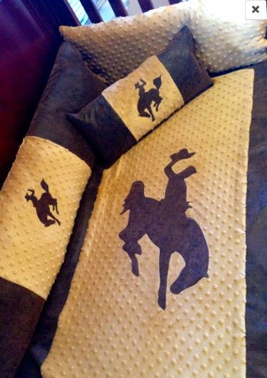 Tan Buckaroo Cowboy Western Baby bedding for your nursery