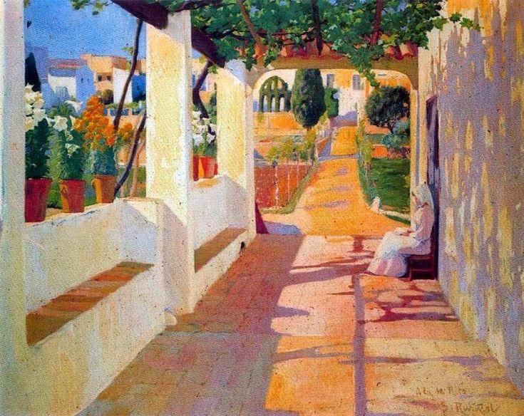 Jardines y patios de Santiago Rusiñol | El Blog de La Tabla