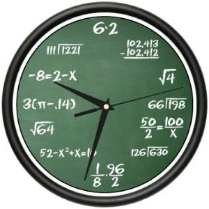 The math clock...please please please may I have??