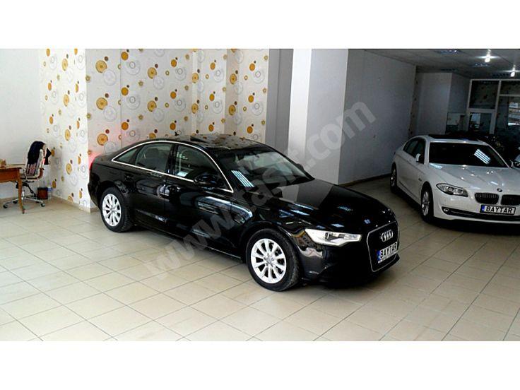 Audi A6 2.0 TDI BOYASIZ_VAKUM_HAFIZA_İLK EL_BAYİİ_2013 AUDİ A.6 2.0 TDİ 177 Hp