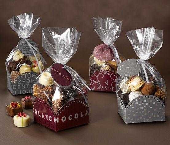 Zestaw opakowań na czekoladki