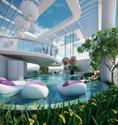 Indoor Pool - Acqua Livingstone, Makati, Philippines by Century Properties