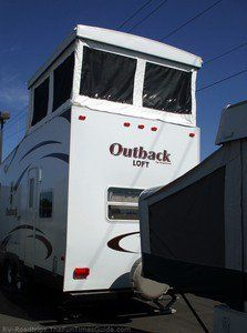 A Review Of Keystone Outback Travel Trailers' 2-Story RV With A Loft! | The RVing Guide