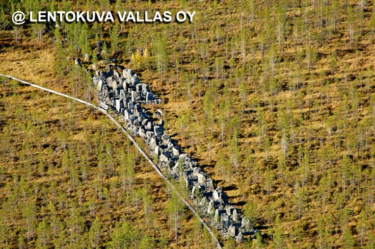 Savukoski, Salpalinja Ilmakuva: Lentokuva Vallas Oy