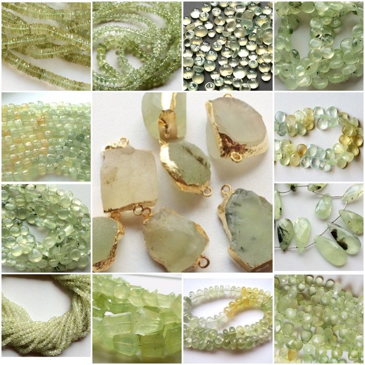 The Green Beauty - 1 of my favourite stones. Love the green and yellow hues this beautiful stone throws in different ways. Gemsforjewels has it all rough & raw  connectors, cabochons, briolettes & rondelles. You can have them All - FLAT 50% OFF STOREWIDE!