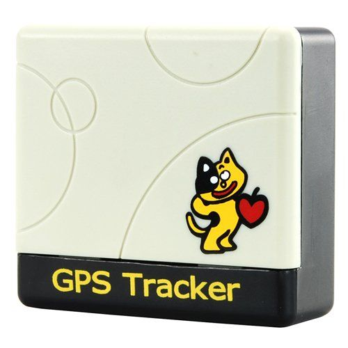 Multi use GPS tracker, suitable for pets, children, in your bag etc. http://www.pricerunner.co.uk/cl/304/Sat-Nav-Accessories#search=pet+gps+tracker&sort=4&q=pet+gps+tracker