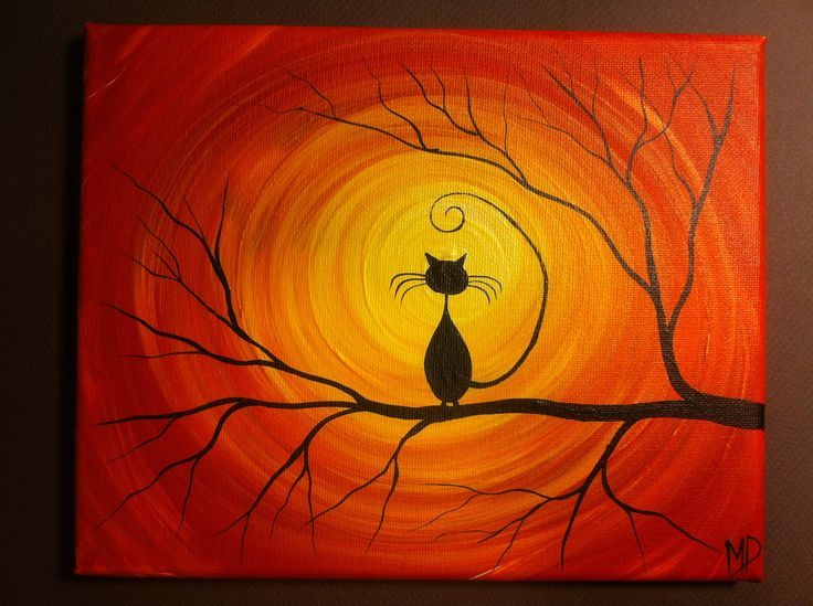 17 best images about canvas painting ideas on pinterest for Easy art designs to paint