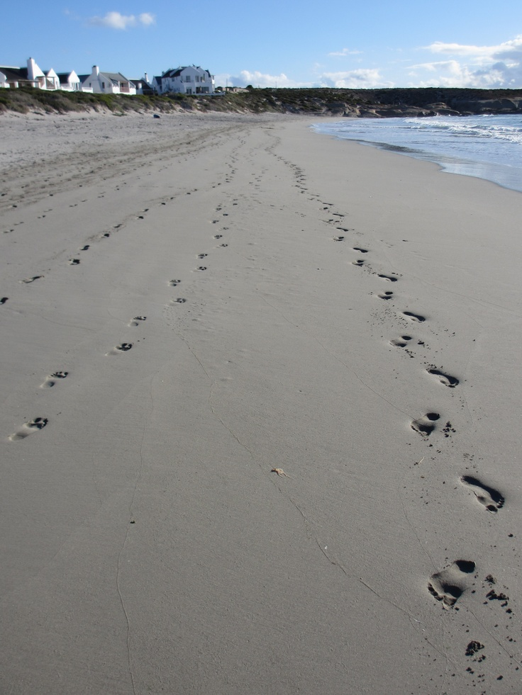 The beach at Paternoster