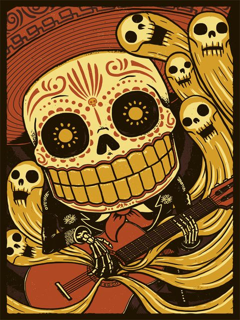 533 best dia de los muertos & skulls images on Pinterest | Sugar ...