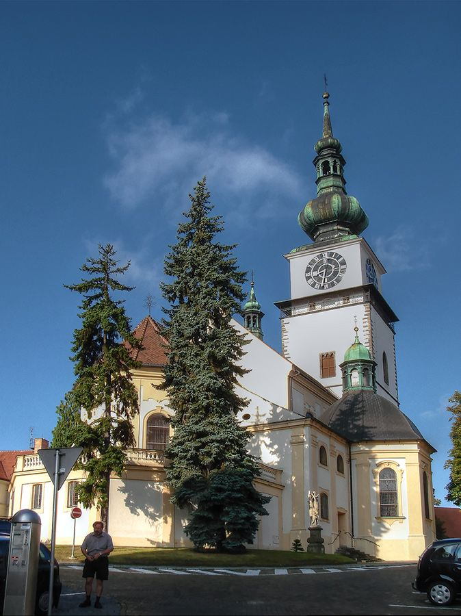 kostel sv. Martina (mesto Třebíč, XII st.)