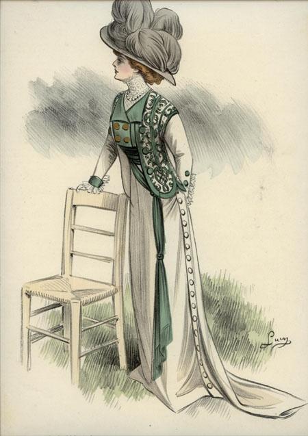 1910-1912 ... L'ART ET LA MODE engravings