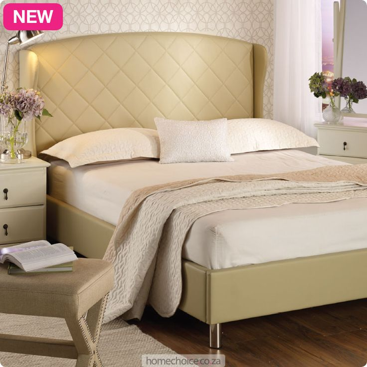 Mandy bed base from R3699 cash or only R368 a month! Shop http://www.homechoice.co.za/Furniture/mattresses-base-sets/Mandy.aspx