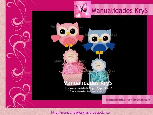 CENTROS+DE+MESA+BUHOS.jpg (648×487)Para Emma, Ideas For, Buhos Para, Party