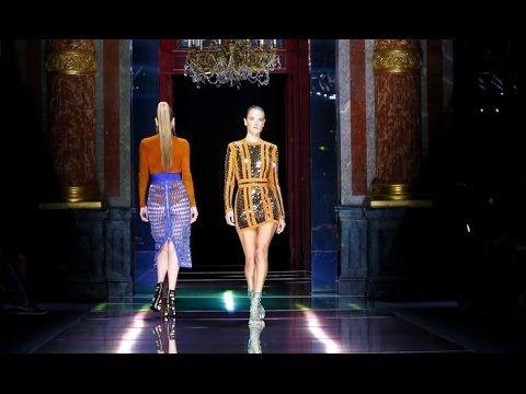 Balmain | Spring Summer 2016 Full Fashion Show | Exclusive