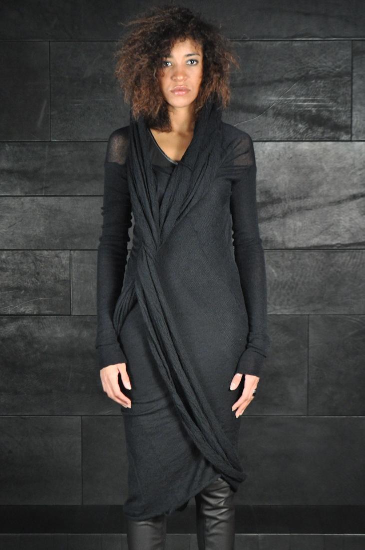 Alessandra Marchi, Scarf Insert Dress