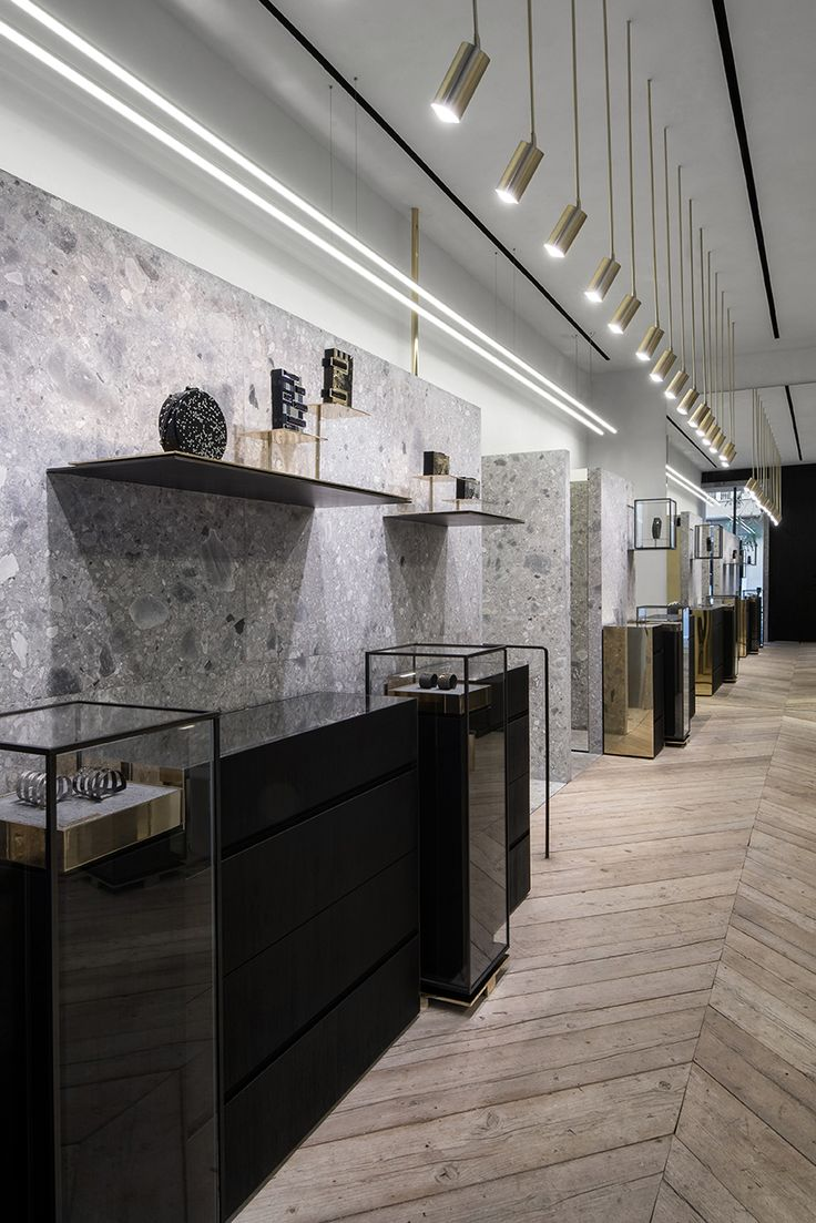 Fine Jewellery Designer Ileana Makri's Flagship Concept Jewellery Store in the heart of Athens by Stelios Kois - Kois Associated Architects www.koisarchitecture.com