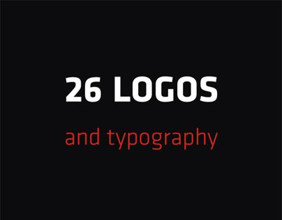 26 Logos & Typography