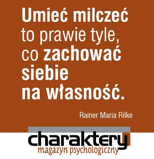 Rilke!