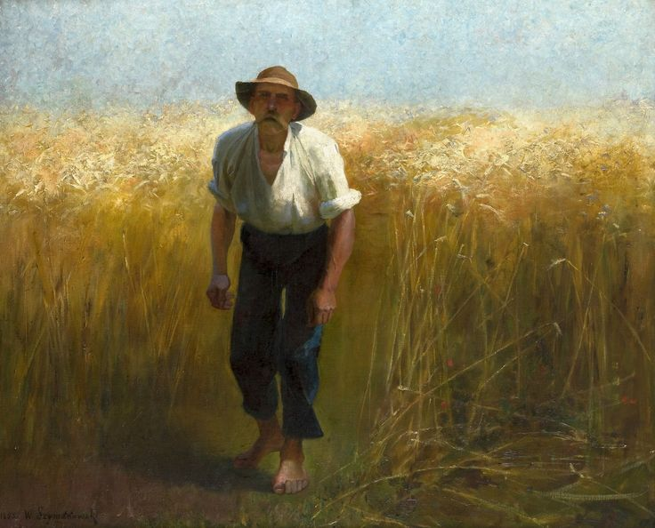 Harvester by Wacław Szymanowski, 1895 (PD-art/80), Muzeum Narodowe w Krakowie (MNK)