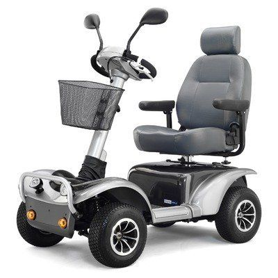 Active Care Osprey 4410 Large Scooter by ActiveCare Medical. $3.50. For a scooter that is more than just basic transportation, look no further than the Osprey. The ActiveCare Medical Osprey is a heavy-duty scooter that is perfect for work or play, capably handling up to 500 pounds for trips as far as 38 miles. Ergonomic handles and an infinitely adjustable tiller combine for comfort and ease of operation. Front and rear wheel suspension and pneumatic tires provide an extra...