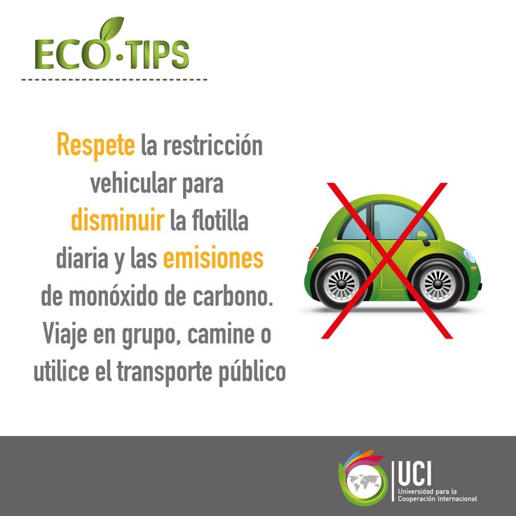 Respete la restricción vehicular