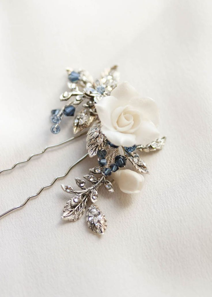 Something Blue | Our favourite wedding accessories with hints of empire blue