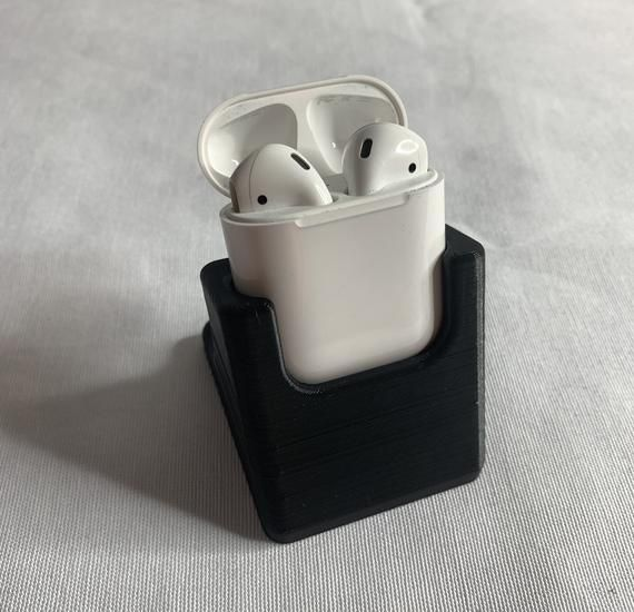 Airpods Holder Display 3d Printed Airpodcharging 3dprinted