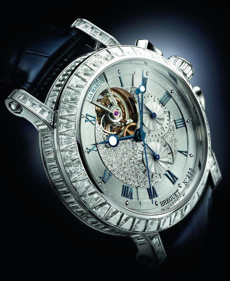 Luxury Watch – Breguet Marine Tourbillon 5839 High Jewellery Chronograph ❤YmM❤