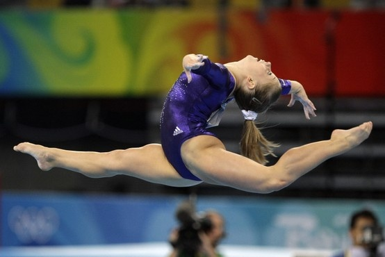 Olympian Shawn Johnson