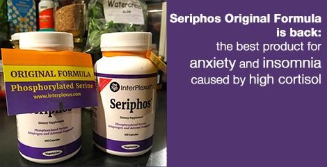 Seriphos Original Formula is back: the best product for anxiety and insomnia caused by high cortisol - everywomanover29